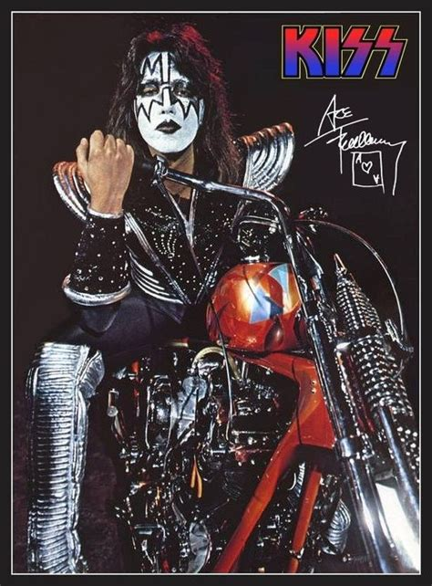 Motorrad Kuss by Ace Frehley Motorcycle Stand Up Display Ebay