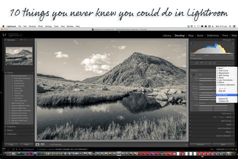 Lightroom Tutorials By Adobe | killer lightroom tips 10 things you never knew you could