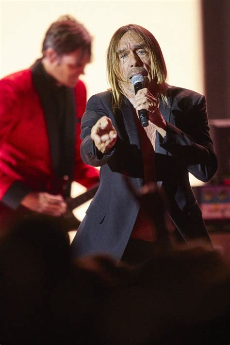 Iggy Pop Grossness by Iggy Pop Iggy 11 29 Mit Josh Homme Matt Helders