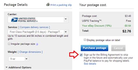 ebay delivery how to pay ebay shipping labels with credit card ways to