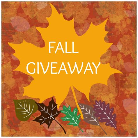 Fall Giveaway - fairytales and fitness welcoming fall with a giveaway