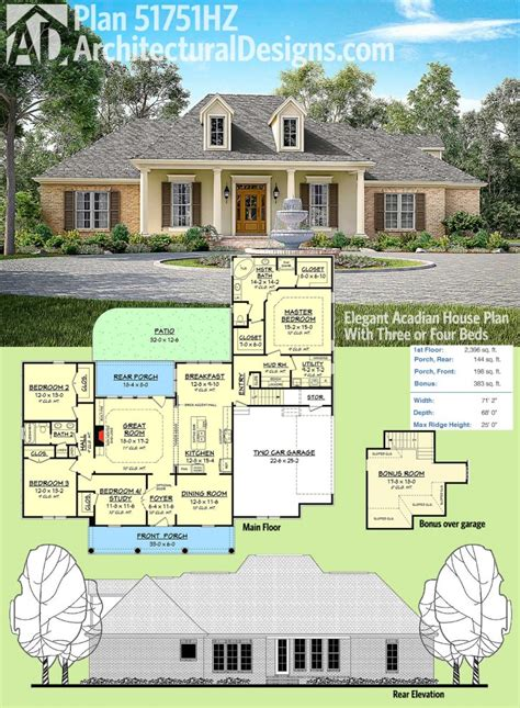 home design acadian home plans for inspiring home