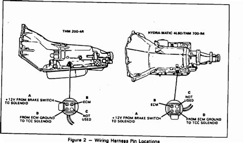 chevy 700r4 transmission wiring diagram autos post