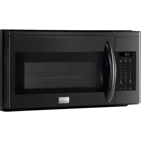 convection microwave oven with exhaust fan frigidaire fgmv153clb 1 5 cu ft over the range