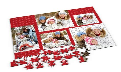 free printable personalized jigsaw puzzles personalised jigsaw puzzle groupon goods