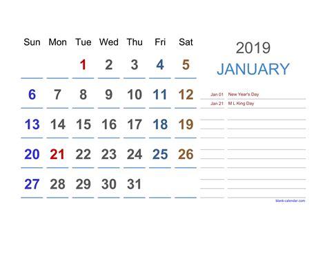 2019 Excel Calendar Free Download Excel Calendar Templates 2019 Calendar Template Excel