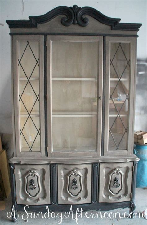 diy chalk paint hutch a lovely hutch finished in coco chalk paint 174 decorative