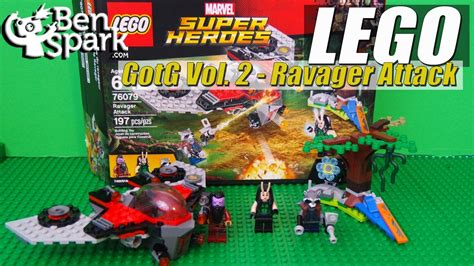 Lego 76079 Marvel Heroes Ravager Attack Guardians Of The Galaxy marvel lego heroes guardians of the galaxy 2 ravager attack set 76079