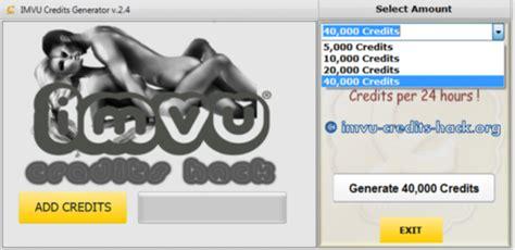 tutorial imvu hack imvu credits adder imvu tutorials and guides