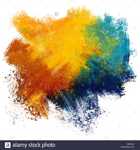 paint colorful colorful paint splash on watercolor paper background stock