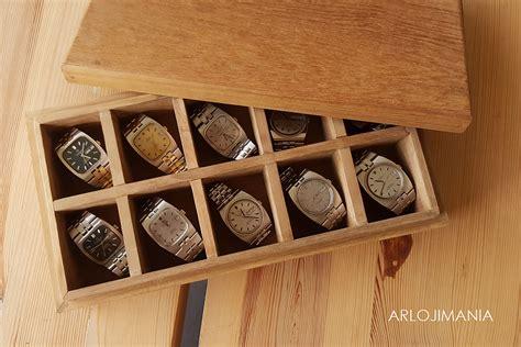 Kotak Jam Tangan Kayu By Desolshop box jam tangan kayu jati solid arlojimania