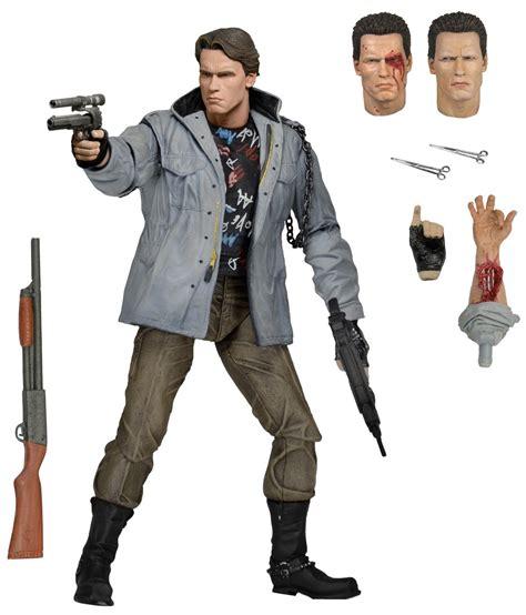 neca toys terminator 7 quot scale figure ultimate tech noir t 800