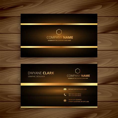 luxury business card design template premium luxury business card design template vector design