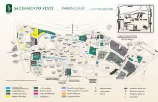 Sac State Map Pdf by California State University Map