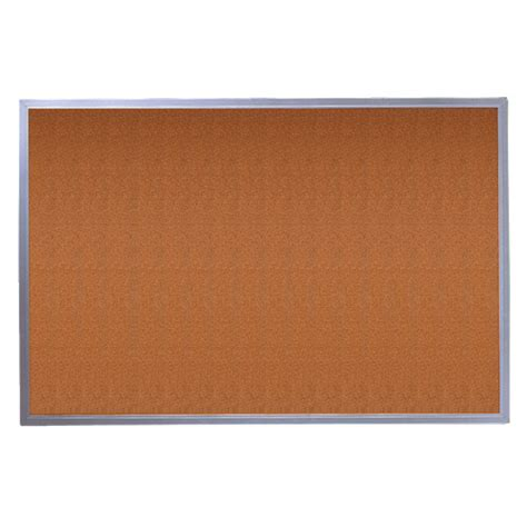 4 X 3 Cork Board With Aluminum Frame by Quartet 4 X 3 Corkboard With Aluminum Frame 3413802304