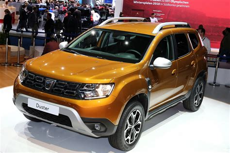 dacia duster new new generation of dacia s budget friendly duster suv is