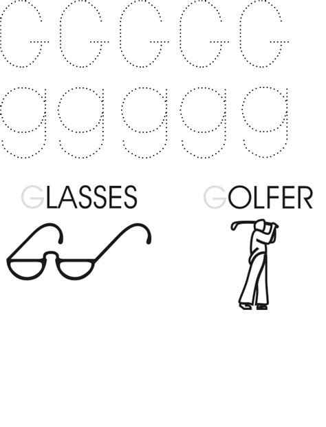 free printable tracing letter g number names worksheets 187 tracing letter g free