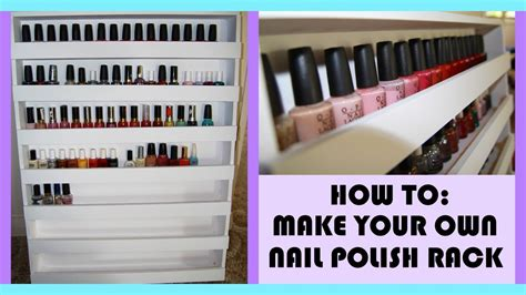 Make My Rack How To Build Your Own Nail Rack