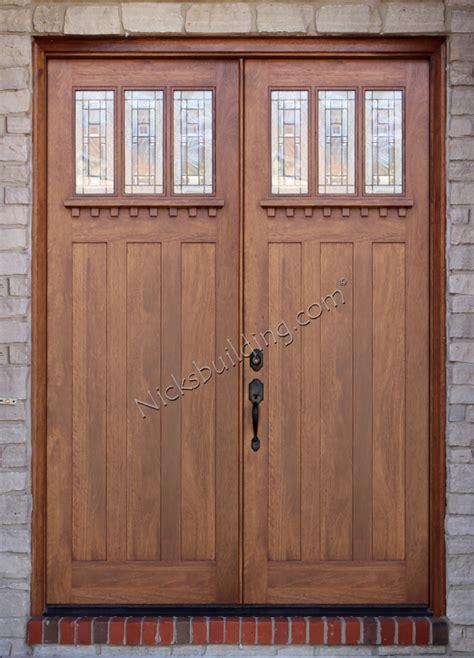 8 Front Entry Doors Exterior Doors Solid Mahogany Doors 8 0