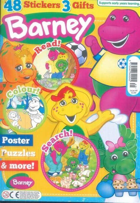 barney fan club magazines barney magazine related keywords barney magazine