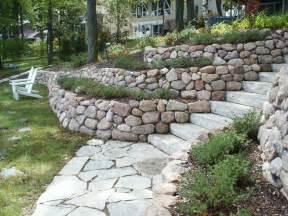 tips to build terraced retaining wall ideas streetside
