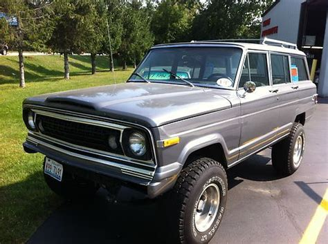 jeep wagoneer lifted find used wagoneer jeep 4x4 lifted suv waggy in cary