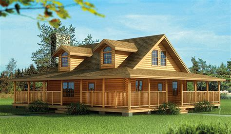 log cabin home with wrap around porch big log cabin homes log homes with wrap around porch plan w5291nd eklmont