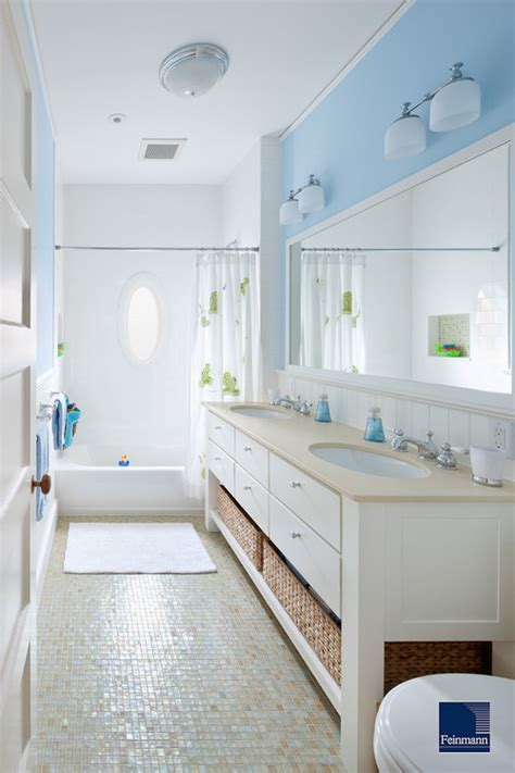 Bathroom Design Boston The Granite Gurus Whiteout Wednesday 5 White Baths With Blue Accents