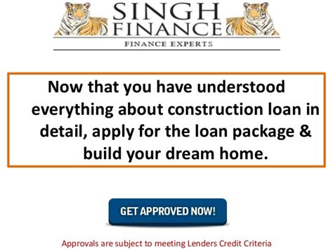 build your dream home know everything about construction loan and build your