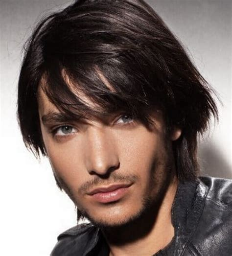 mens hairstyles layered cut mens layered hairstyle