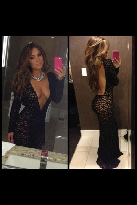 Would You Wear Lantern Sleeves Like J Lo by Gorgeous See Through Dress Worn So Well By Jlo I