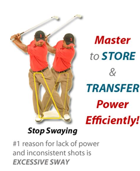 reverse slot golf swing stop swaying and reverse pivoting