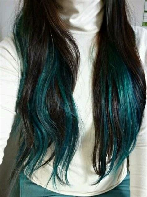 hairstyles with teal highlights 639 best images about hair styles on pinterest short