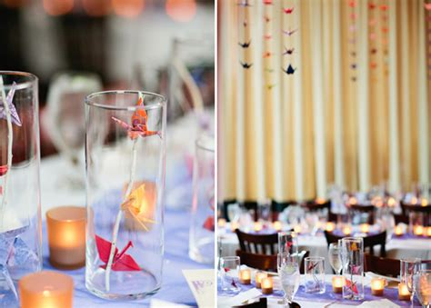 Origami Crane Wedding Decoration - origami crane wedding ideas