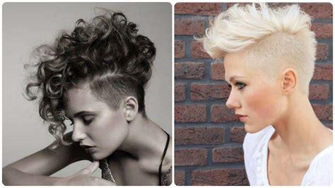 fotos de rapados de pelo de mujer corte pelo corto rapado en los lados 161 un estilo muy decidido