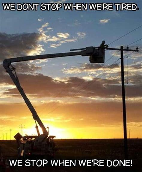 Power Lineman Memes - best 25 electrical lineman ideas on pinterest lineman
