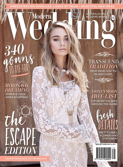 Wedding Magazine by Modern Wedding Magazine The Escape Edition Preview