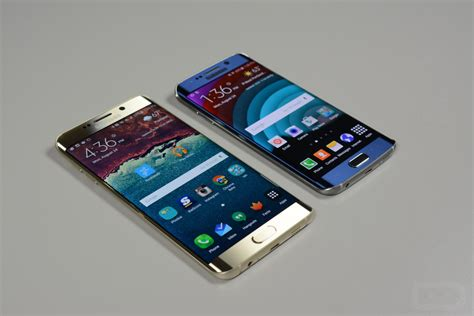 Samsung Edge S6 samsung galaxy s6 edge vs galaxy s6 edge droid