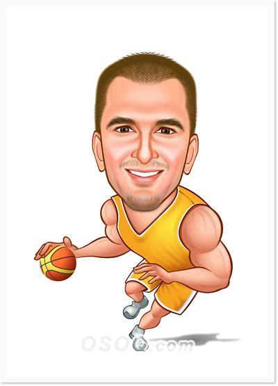Sports Caricature Osoq Com Caricature Templates Free