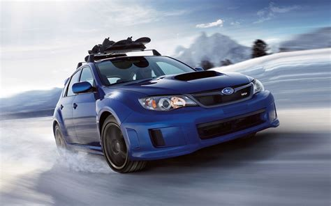 subaru wrx snow wallpaper the four best used cars for the snow
