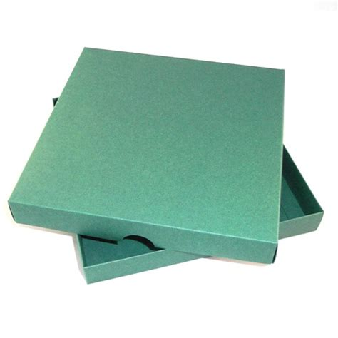 Boxes For Handmade Cards - 7x7 green greeting card boxes for handmade cards