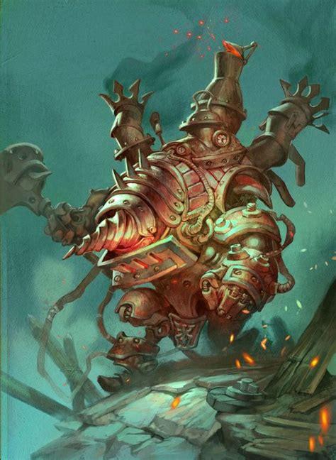 printable heroes goblins card name screwjank clunker artist jesper ejsing