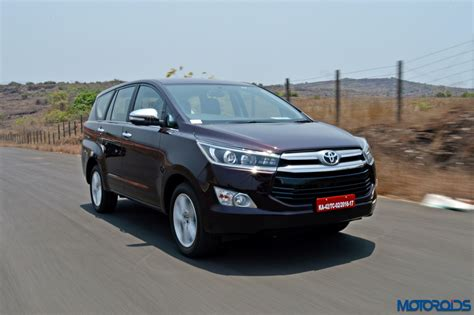 toyota innova price in india top model new 2016 toyota innova crysta launched in india top