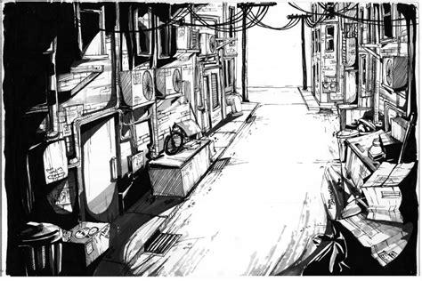 sketch book open alley by fab00m on deviantart