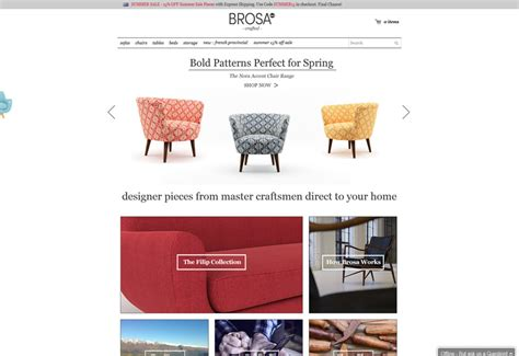 Chair Website Design Ideas Furniture Shop Website Design Jimmyweb Sydney