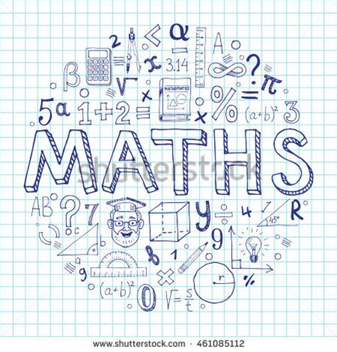 doodle maths sign in stock images royalty free images vectors