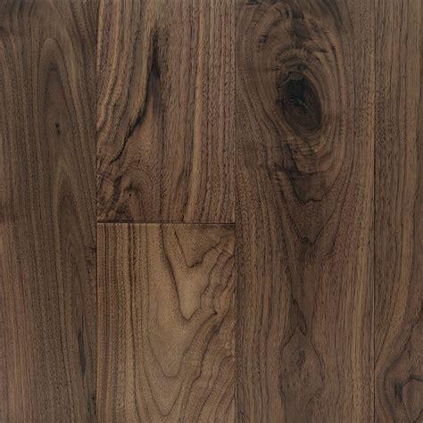 Hand Scraped, Black Walnut Natural   Vintage Hardwood