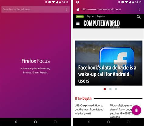focus app for android the best privacy and security apps for android computerworld
