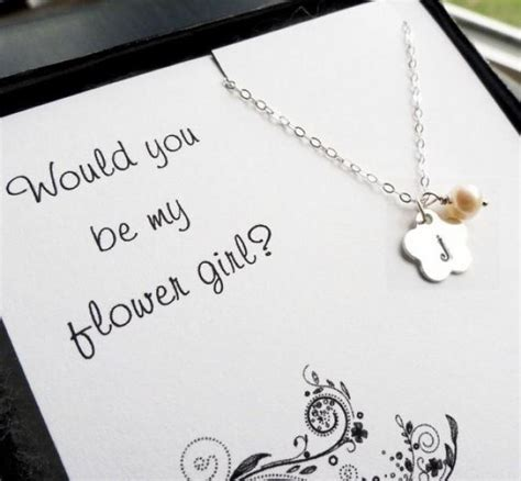 rental house how to personalize a little girls bedroom flower girl gift personalized necklace for flower girl or