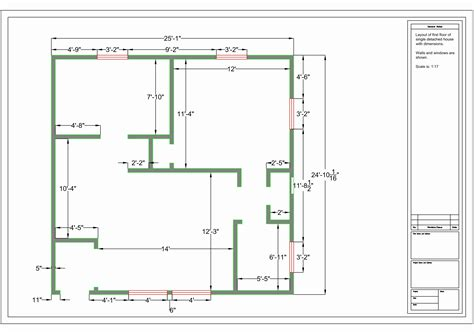 How To Design A Floor Plan How To Make Floor Plans Using Autocad Escortsea